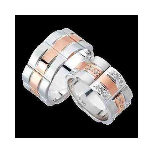 ARANY Bicolor Karikagyűrű – TS974