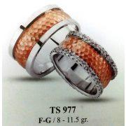 ARANY Bicolor Karikagyűrű – TS977