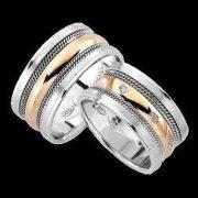 ARANY Bicolor Karikagyűrű – TS978