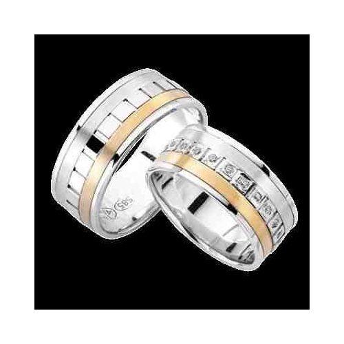 ARANY Bicolor Karikagyűrű – TS979