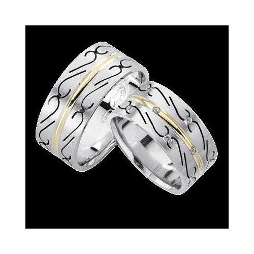 ARANY Bicolor Karikagyűrű – TS983