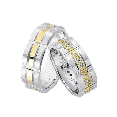 ARANY Bicolor Karikagyűrű – TS984