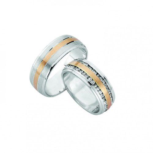 ARANY Bicolor Karikagyűrű – TS985