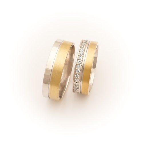 ARANY Bicolor Karikagyűrű – TS988Y