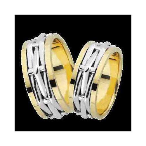 ARANY Bicolor Karikagyűrű – TS989