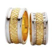 ARANY Bicolor Karikagyűrű – TS99
