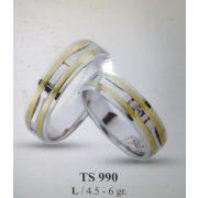 ARANY Bicolor Karikagyűrű – TS990