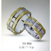 ARANY Bicolor Karikagyűrű – TS994