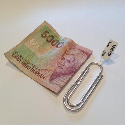 EZÜST – Pénz csipesz – GIACOMO