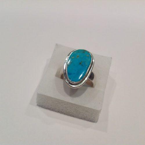 Türkiz köves ezüst gyűrű – Csodálatos égbolt