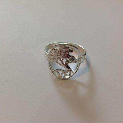 EZÜST Gyűrű – Sárkányvérfa