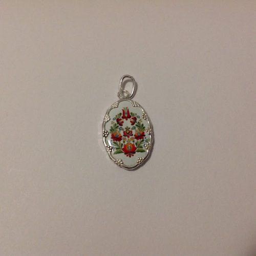 EZÜST Kalocsai kicsi medál – Virágkoszorú