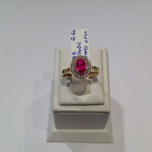 ARANY Gyűrű Köves – INES
