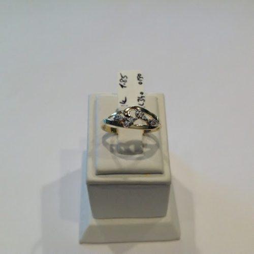 ARANY Gyűrű Köves – ELOISA