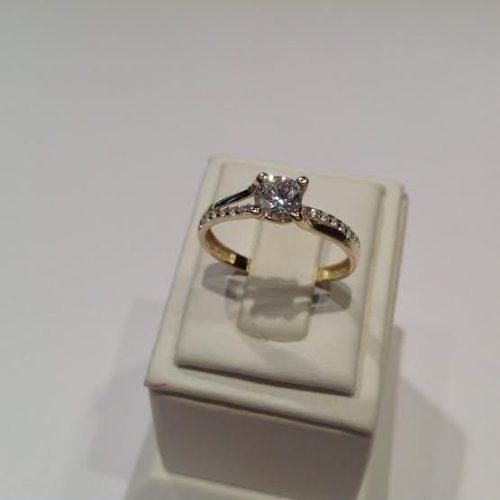 ARANY Gyűrű Köves – CRISTINE