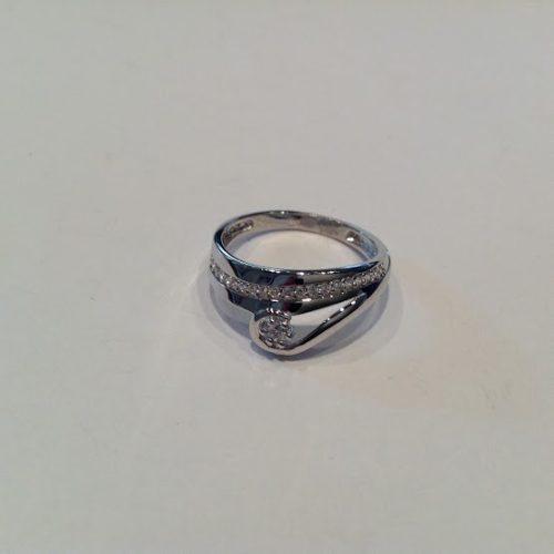ARANY Gyűrű Köves – Korona