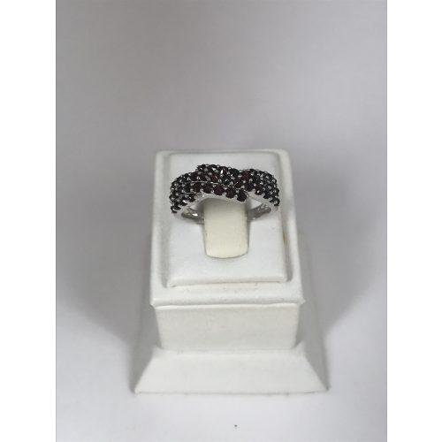EZÜST Gyűrű Gránát – 8