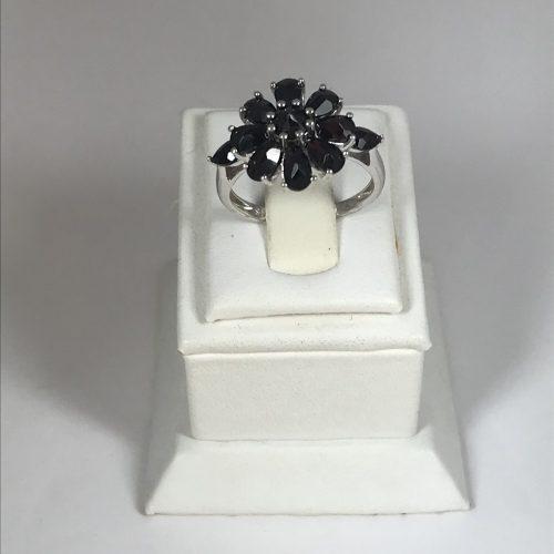EZÜST Gyűrű Gránát – Női – 30