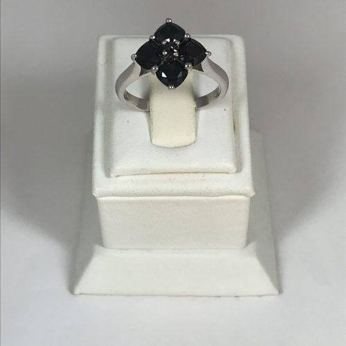 EZÜST Gyűrű Gránát – Női – 31