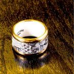 ZEMA és KATALIN&SZÁSZ DESIGN – KÖVIRÓZSA – aranyozott gyűrű