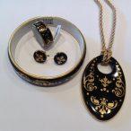 ZEMA – Barokk Fekete&Arany Szett