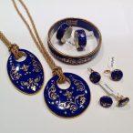 ZEMA – Barokk Royal Blue Szett