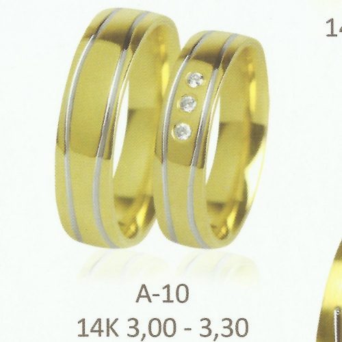 ARANY Karikagyűrű Köves – CASCIANA