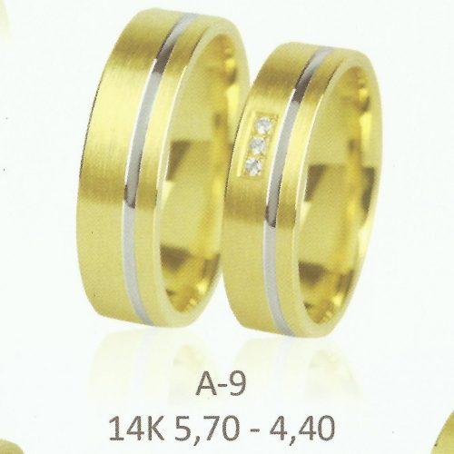 ARANY Karikagyűrű Köves – TIRANNE