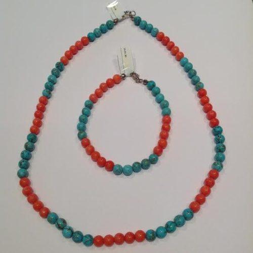 Korall – Türkiz nyaklánc – ADRIA