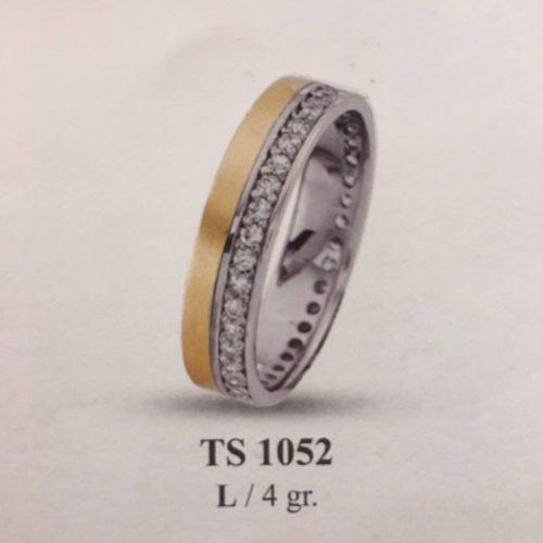 ARANY Bicolor Kísérőgyűrű – TS1052