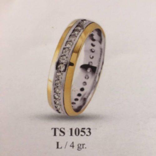 ARANY Bicolor Kísérőgyűrű – TS1053