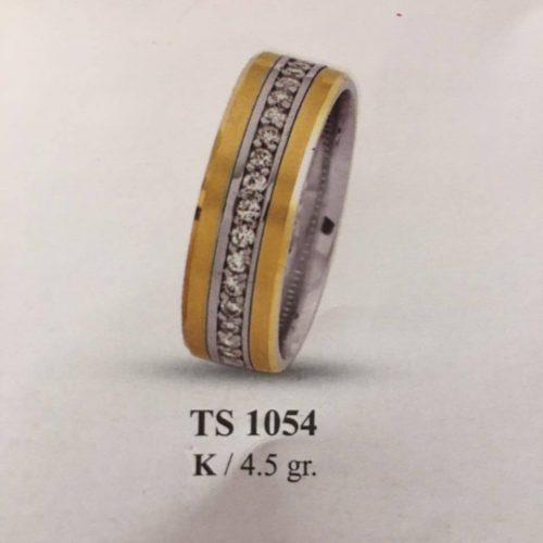 ARANY Bicolor Kísérőgyűrű – TS1054