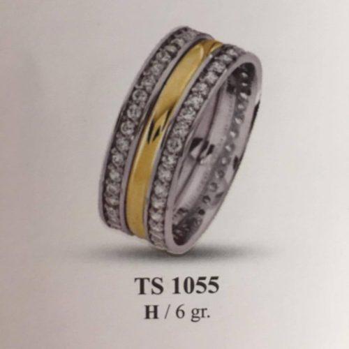 ARANY Bicolor Kísérőgyűrű – TS1055