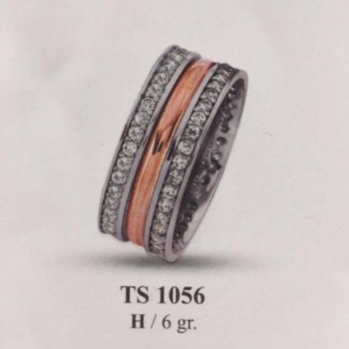ARANY Bicolor Kísérőgyűrű – TS1056