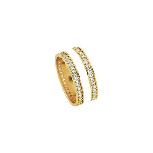 ARANY Kísérőgyűrű – TS1057BEYAZ