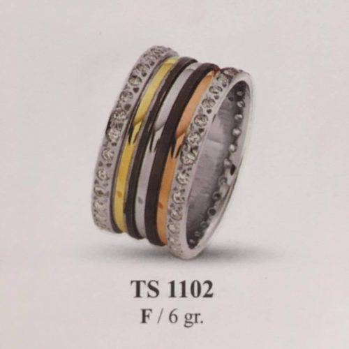 ARANY Tricolor Kísérőgyűrű – TS1102