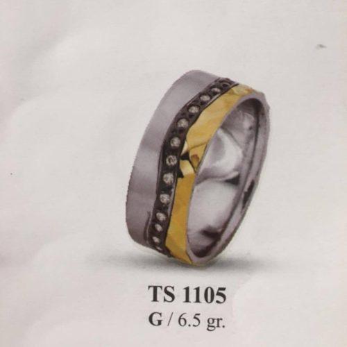 ARANY Bicolor Kísérőgyűrű – TS1105
