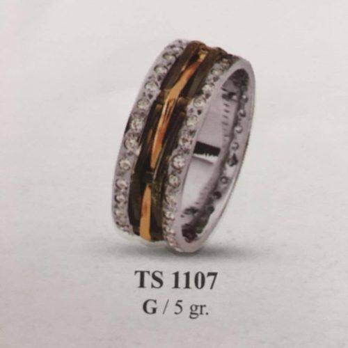 ARANY Bicolor Kísérőgyűrű – TS1107