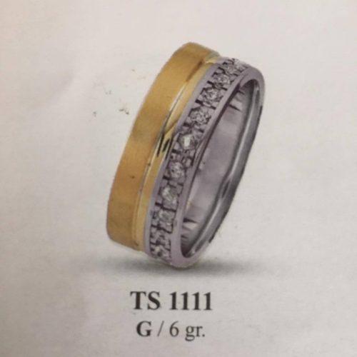 ARANY Bicolor Kísérőgyűrű – TS1111