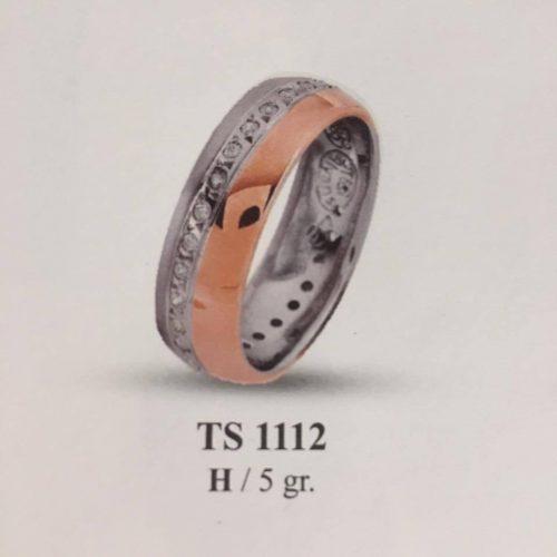 ARANY Bicolor Kísérőgyűrű – TS1112