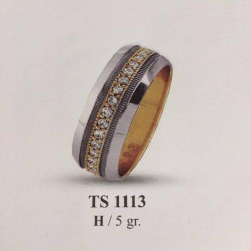 ARANY Bicolor Kísérőgyűrű – TS1113