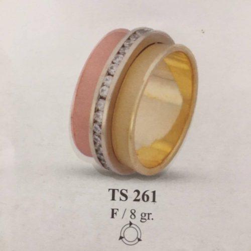ARANY Tricolor Kísérőgyűrű – TS261