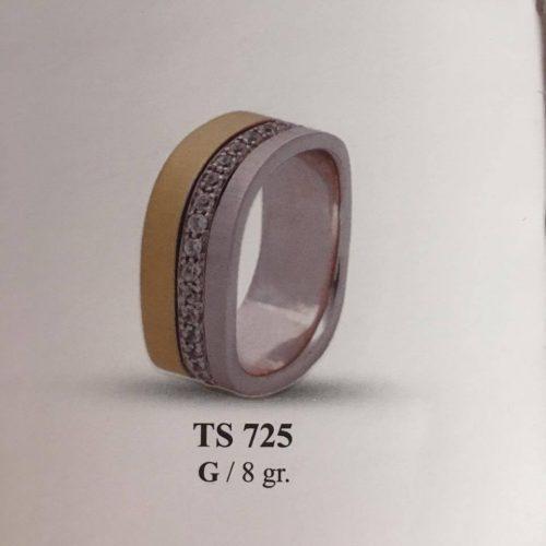 ARANY Bicolor Kísérőgyűrű – TS725