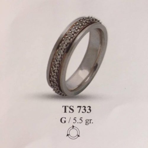ARANY Kísérőgyűrű – TS733