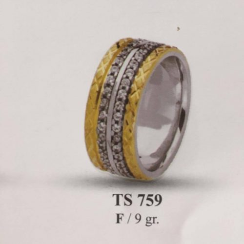 ARANY Bicolor Kísérőgyűrű – TS759