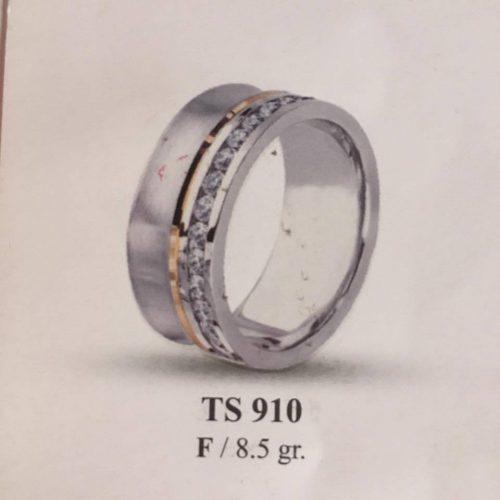 ARANY Bicolor Kísérőgyűrű – TS910