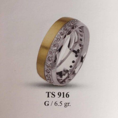 ARANY Bicolor Kísérőgyűrű – TS916