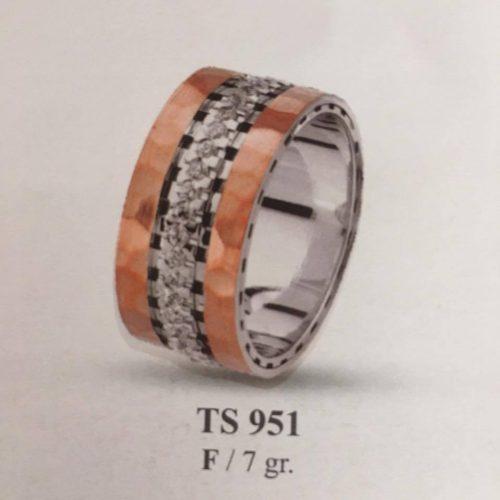 ARANY Bicolor Kísérőgyűrű – TS951