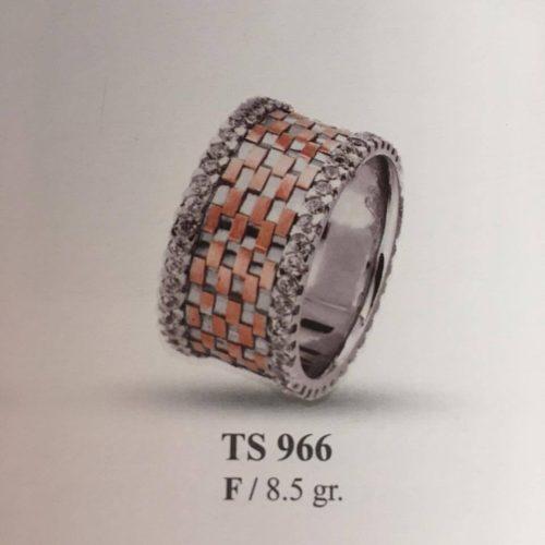 ARANY Bicolor Kísérőgyűrű – TS966