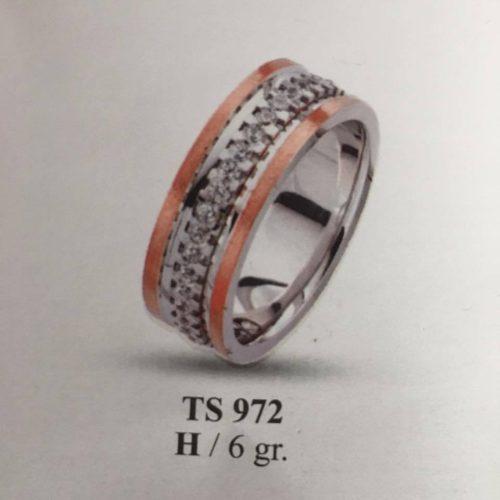 ARANY Bicolor Kísérőgyűrű – TS972